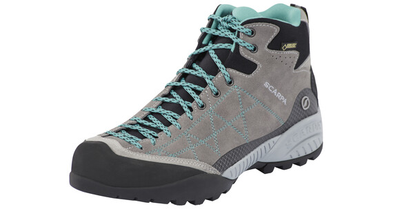 Scarpa Zen Pro Mid GTX Shoes Women midgray/lagoon